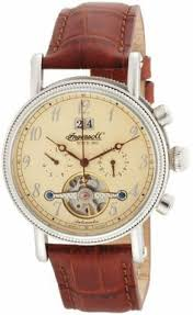 men s wrist watches ingersoll mens in1800cr richmond automatic buy ingersoll richmond automatic brown leather strap watch from our all gifts for him range at tesco direct we stock a great range of products at everyday