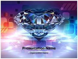 Diamond Powerpoint Template Is One Of The Best Powerpoint Templates