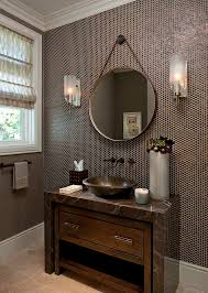 Brown Tiles Bathroom 30 Penny Tile Designs That Look Like A Million Bucks