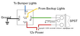 wiring diagram for reverse lights wiring image wiring suggestion auxiliary reverse lights w reverse or switch on wiring diagram for reverse lights