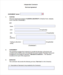 sample contract agreement sample contract agreement 8 documents in pdf word