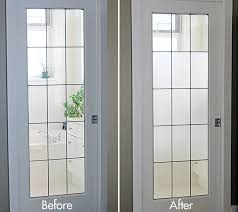 DIY Frosted Glass Window Tutorial