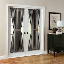 Patio Door Curtain Features Casual Woven Fabric Fits Patio French Doors Sold