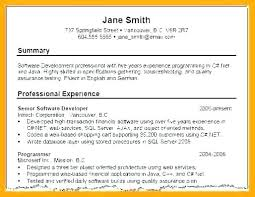 Profile Summary For Resume Examples Sample Profile For Resume Inside Cool Resume Profile Summary