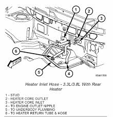 i bypass metal heater tube in back of the engine compartment leak full size image