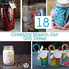 Decorating Mason Jars For Gifts 100 Creative DIY Mason Jar Gifts Great Homemade Gift Ideas 69