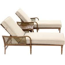 arabella 3 piece aluminum patio chaise lounge set w sunbrella cast design of lakeview outdoor designs