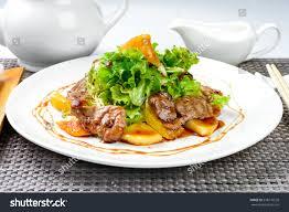 Korean Salad Egg Seafood Green Dish ...