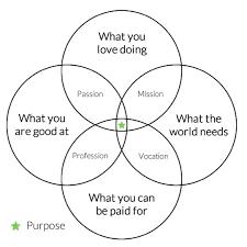 Venn Diagram Information The Almanac The Venn Diagram Of Your Purpose And Bliss