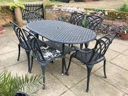 garden furniture. Cast Metal Garden Furniture Set D