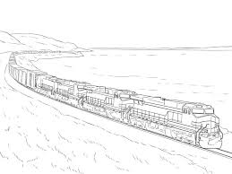 Coloring Pages Lego Trains New Lego Train Coloring Page For Kids