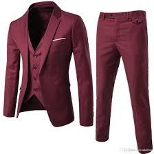 New Suit Design 2019 Man 2019 New Fashion Designer Men Suit Groom Tuxedos Groomsmen Side Vent Slim Fit Best Man Suit Wedding Mens Suits Bridegroom Wl007 Mens Tuxedos For