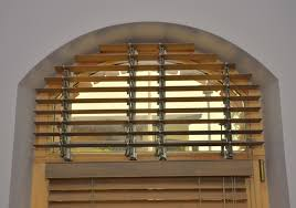 Arched Window Blinds Treatments U2014 Home Ideas Collection  Elegant Semi Circle Window Blinds