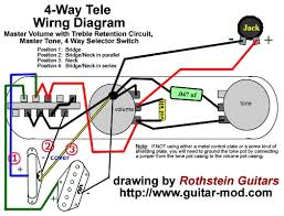 4 way telecaster switch wiring diagram Four Way Switch Wiring Diagram Intermediate Switch Wiring
