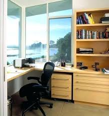 small home office desk built. Built In Home Office Designs Builtin Traditional Corner . Small Desk U