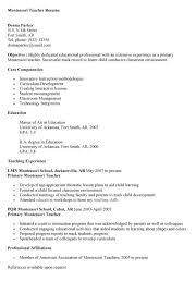 seek teacher resume sales teacher lewesmr inside montessori teacher resume  sample - Montessori Teacher Resume Sample