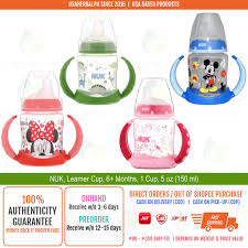 NUK, <b>Disney Baby</b>, <b>Learner</b> Sippy Cup, 6+ Months, 1 Cup | Shopee ...