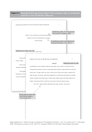Sample Papers Apa Style Apa Corrected Sample Papers By Apa Org