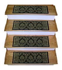 160369 european 2 2 x 9 inches wool stair treads black