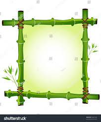 frame design. Green Bamboo Frame Design G