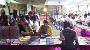 book fair bhulka vihar school students exhibited 1500 different types of book in this fair which includes both gujarati and english books of maths stories poems essay history