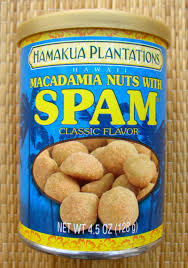 macadamia nuts with spam clic flavor