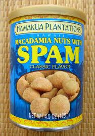 macadamia nuts with spam clic flavor