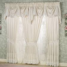 Lace Window Treatments Trousseau Lace Curtains Valance Window And Window Coverings
