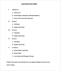 outline for a persuasive essay co argumentative essays 9 samples examples format outline
