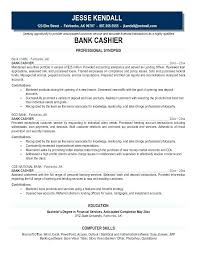 Bank Teller Job Description For Resume Beauteous Amazing Resume Job Description For Fast Food Cashier With Bank Cv