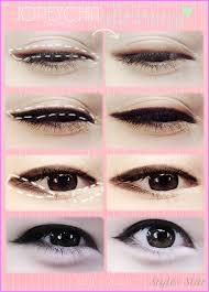 ariska pue s korean eyes makeup