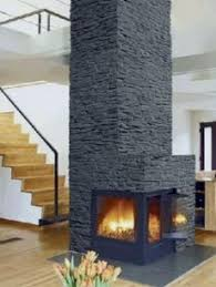 Slate Fireplace Surround Excellent Concept Wall Ideas In Slate Slate Fireplace