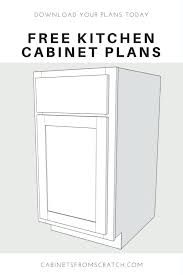 Diy Kitchen Cabinet Plans Awesome Kitchen Cabinet Plans X Build Kitchen Cabinets Woodworking Plan