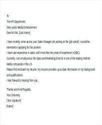 Sample Cover Letter For Email Cover Letter Sample Resume Sample