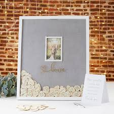 Wedding Guest Book Wedding Guest Book Alternative Frame