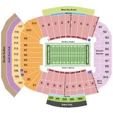 Stadium Seating Chart Vaught Hemingway Stadium Seating Chart Vaught Hemingway