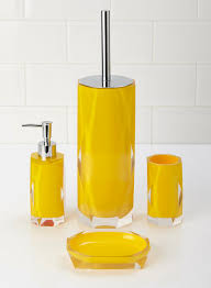Yellow Bathroom An Overview Of Yellow Bathroom Accessories Bath Decors