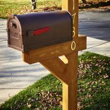 wood mailbox posts. Beautiful Posts Mailbox Post Unique Post Photo Of The Man Ringwood Il United  States 4x6 To Wood Mailbox Posts