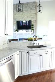 formica calacatta marble final kitchen makeover reveal love and using marble wow we love the clean