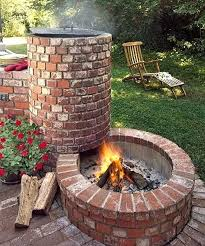 diy outdoor brick fireplace i installed a fire pit this weekend oven diy outdoor brick fireplace