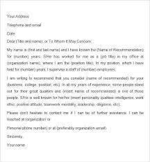 Sample Recommendation Letter For Graduate School Admission