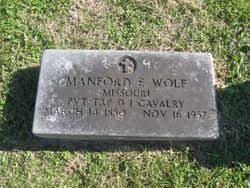 Manford Eugene Wolf (1880-1957) - Find A Grave Memorial