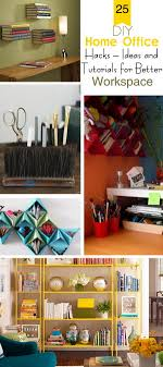 diy home office ideas. DIY Home Office Hacks · Ideas And Tutorials For Better Workspace! Diy G