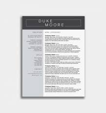 Template Best Cv Format Doc Free Download Word Resume
