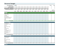 Sample Personal Budget Templates Best Photos Of Sample Personal Budgetreadsheet Sheet Excelreadsheet