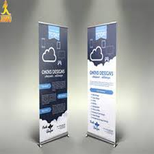 Folding Banner Display Stands Display Roll Up Banner StandFolding Banner StandsFactory Price 2