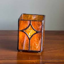 161 best stained glass candle holders images on for mosaic glass candle holders