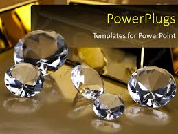 Diamond Powerpoint Template Or Powerpoint Template A Number Of