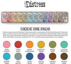 Tim Holtz And Ranger Distress Oxide Inks Complete Set Of