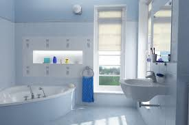 aqua blue bathroom designs. If You Want To Decorate Your Bathroom Using Light Color, Can Try Blue Ideas. Such As Aqua Is Good Designs